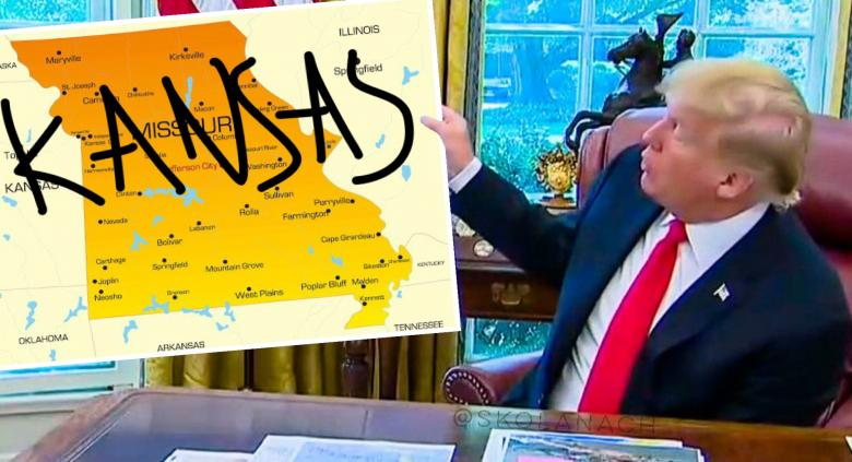 Twitter LOLs Over Trump's Congrats To The Chiefs For 'Representing The Great State Of Kansas'