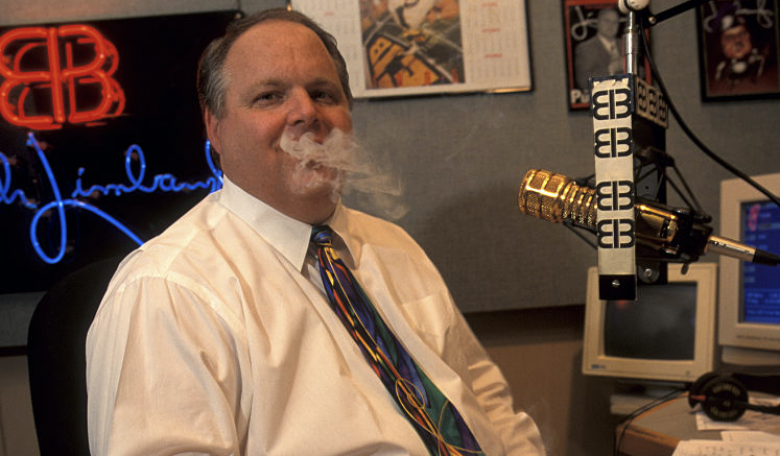 Rush Limbaugh Has Advanced Lung Cancer Now. But Then, He Asked For 'A Medal For Smoking'