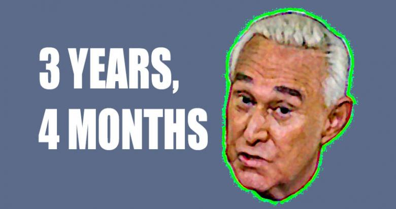 Roger Stone Verdict:  Three Years, Four Months For Cover Up