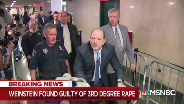 Harvey Weinstein Found Guilty On Two Counts
