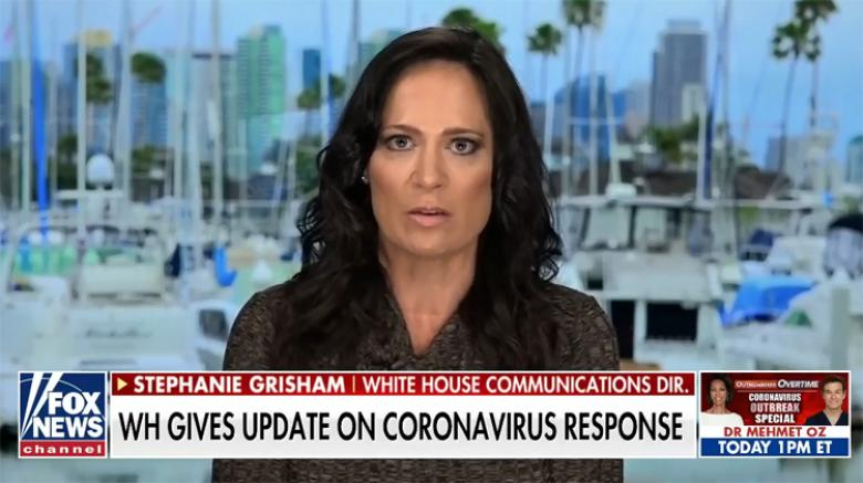 Stephanie Grisham Self-Quarantines After Saying Democrats Were Using COVID-19 To 'Scare People'