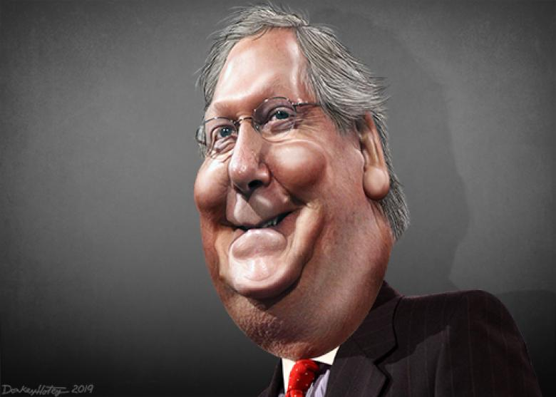 The Most Dangerous Man In America Right Now Isn't Trump. It's Mitch McConnell