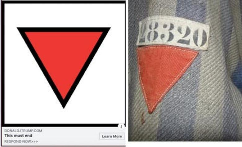 Trump Campaign Using Symbols Associated With The Nazis To Smear Antifascists
