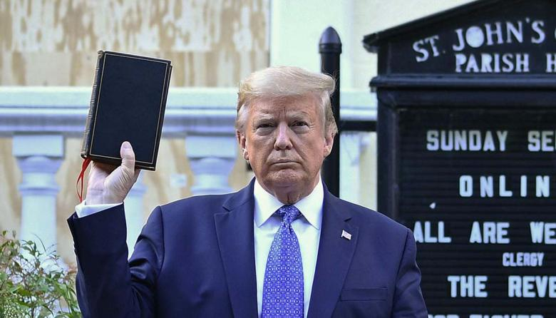 Trump's Poll Numbers Nosedive After Bible Photo Op