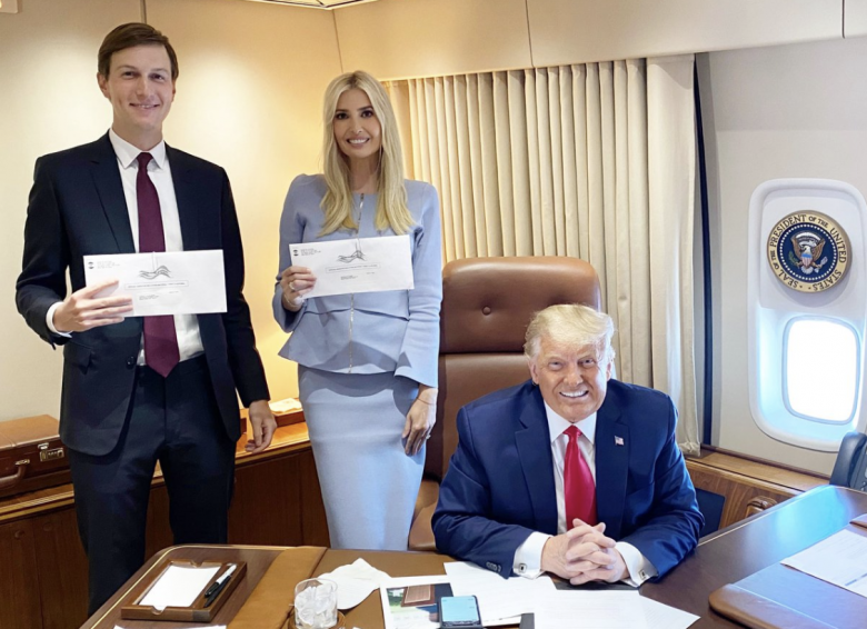 Ivanka And Jared Brag About Casting Their Votes By Mail