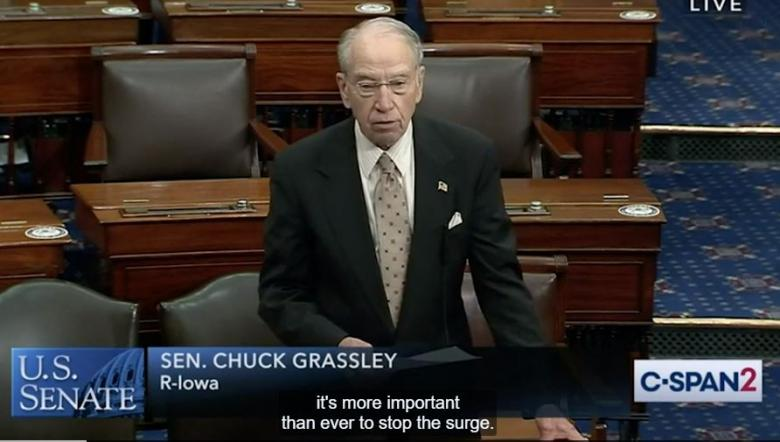 Sen. Chuck Grassley, Age 87, Tests Positive For COVID