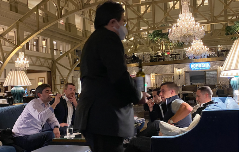 Why Were MI Legislators Drinking $800 Champagne At Trump's Hotel?