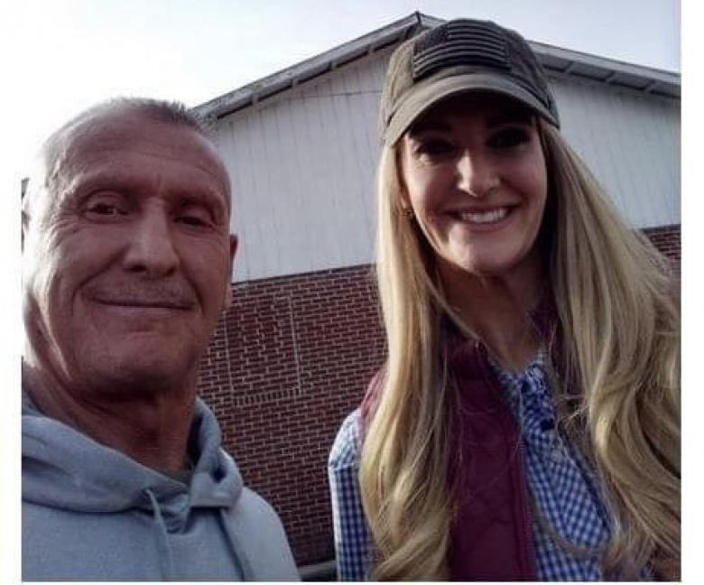 Kelly Loeffler Poses For Photo With Notorious KKK Leader