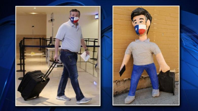 Dallas Party Store Creates Ted Cruz Piñatas