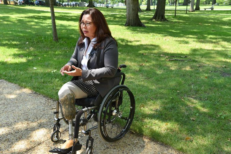 Tammy Duckworth Slams Tucker Carlson Over His Comments About Women In The Military