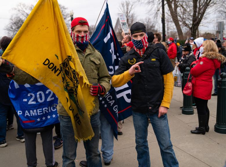 Prosecutors Weave Tale Of Conspiracy With Proud Boys, Oath Keepers