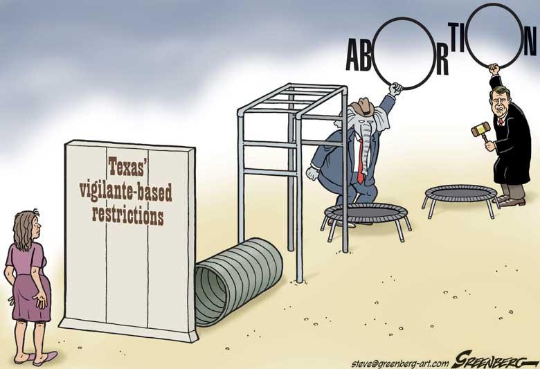 CARTOON: Abortion Obstacle Course