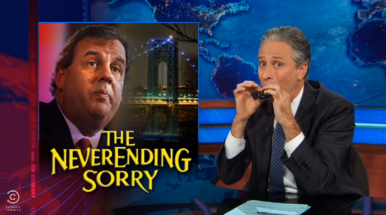 Bridge Scandal Makes Daily Show Again: Jon Stewart On Christie's Epic Press Conference