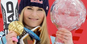 Lindsey Vonn Withdraws From Sochi Olympics