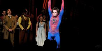 Spiderman Stages A Special Performance For Autistic Fans