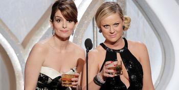 Fey And Poehler Hosts Golden Globes