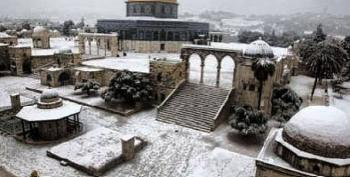Holy Land Hit By Heaviest Snowfall In Decades