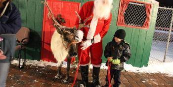 Santa Cleared For Entry To US