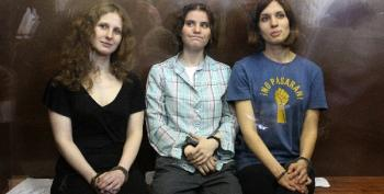 Pussy Riot Women Vow To Fight On After Release