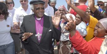 Tutu 'Not Invited' To Mandela Burial