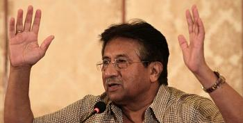 Musharraf Suffers 'Heart Problem' On Way To Treason Hearing