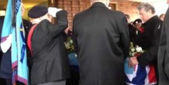 Hundreds Attend Funeral For WWII Veteran With No Close Family