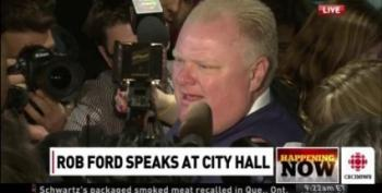 Rob Ford Colorfully Denies Sex With Former Staffer