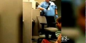 Cops Video Themselves Tasing, Laughing At Mentally-Ill, Handcuffed Man