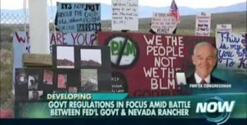 Ron Paul Stokes Fear And Warns Of  A 'Waco-Style Assault' On Nevada Rancher