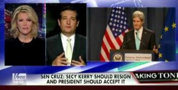 Ted Cruz Is Thrilled To Have An Excuse To Attack John Kerry