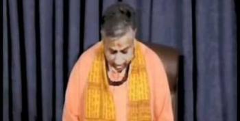 Rude, Stupid Christians Interrupt Hindu Priest's Senate Invocation