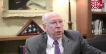 Crazy Rafael Cruz Cozies Up With Ginni Thomas For Some Obama-Bashing
