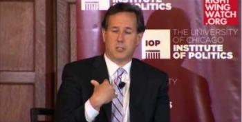 Santorum: Government Should Just Give Away Birth Control