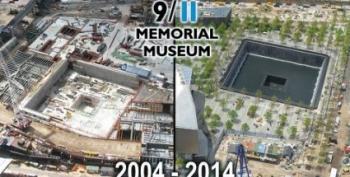 Open Thread - Time Lapse 9/11 Memorial Construction