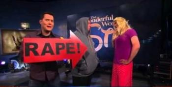 Glenn Beck Mocks All Rape Victims With Humorless 'Rape' Skits