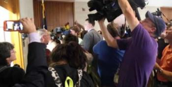 'Tillis 15' Protesters Arrested As Moral Mondays Resume