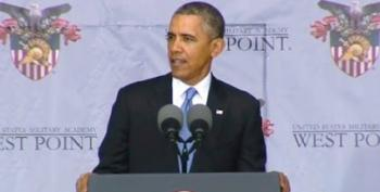 Obama's West Point Speech Blew Out Every Single Right Wing Talking Point
