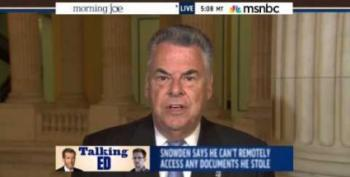 Peter King Wants Us To Believe Snowden's Lying About NSA Spying