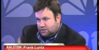 Frank Luntz Attacks Harry Reid For Bringing Up Redskins, Neglects To Disclose He's Working For Them