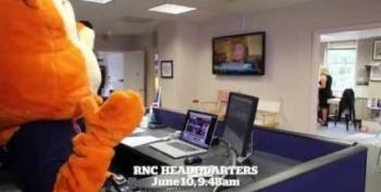 RNC Uses Giant Squirrel Costume As Attack Tool Against Hillary Clinton