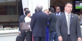 Breitbot Mattera Asks Hillary Clinton To Sign Her Book, Addressed To Ambassador Stevens