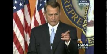 John Boehner Plans To Sue Obama Over Executive Orders
