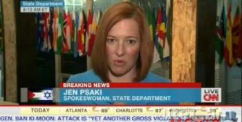 State Department Spokesperson On Israel: We Just Want You To Try Harder Not To Kill Kids