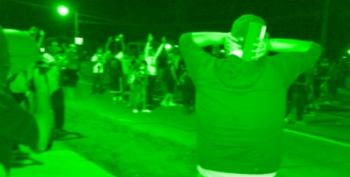 St. Louis County Cops Attack Peaceful Protesters In Ferguson
