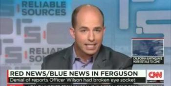 CNN's Stelter: Fox Used Baseless Fractured Eye Socket Report For 'Sowing Doubt' About Michael Brown