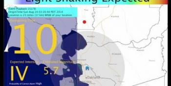 Earthquake Early Warning System Works, But Is Unfunded