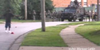 Exclusive Video: Cops Shot Rubber Bullets At Ferguson Residents Near Shooting Site