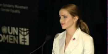 Misogynistic Online Creeps Threaten Emma Watson Over Her 'Feminist Cancer'