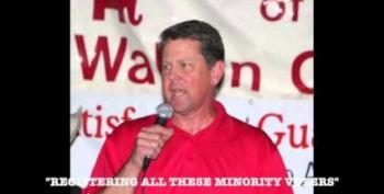 Georgia Secretary Of State Fears Democratic Efforts To Register Minority Voters