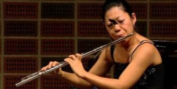 Open Thread - Butterfly Digs The Flute
